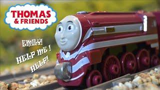 getlinkyoutube.com-CAITLIN'S BRAKES BREAK! | BEST ENGINE EVER CLIP REMAKE | Thomas & Friends