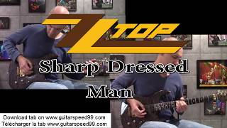 Sharp Dressed Man - ZZTOP - guitar cover