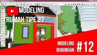 getlinkyoutube.com-SketchUp - Modeling Bubungan