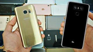 getlinkyoutube.com-LG G6 vs Samsung Galaxy S7 - Which Should You Buy? EARLY Comparison!