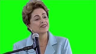 getlinkyoutube.com-Dilma Saudando a Mandioca (TELA VERDE)