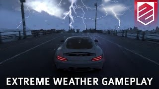getlinkyoutube.com-DRIVECLUB | Extreme Weather Gameplay - Heavy Rain, Snow, Lightning | Patch 1.08