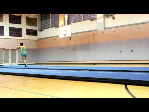 Mahir Khan; Floor Exercise Routine