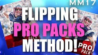 getlinkyoutube.com-HOW TO FLIP 500K PRO PACKS FOR PROFIT! BEST COIN MAKING METHOD! Madden Mobile 17