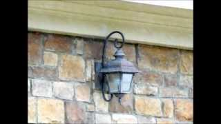 getlinkyoutube.com-Outdoor Sconces For Homes - Wall Sconces, House building. Custom Homes. Home Plans Home Depot