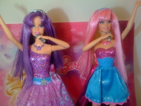 Barbie la Princesa y la Estrella del Pop Muñecas / The Prin
