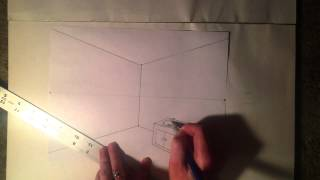 getlinkyoutube.com-2 point perspective give room detail