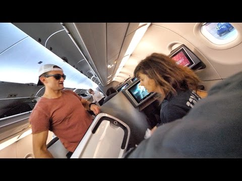 SHE SCREAMED THE ENTIRE FLIGHT