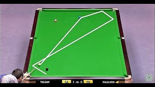 getlinkyoutube.com-Snooker-The Masters [2015] - Trump V Maguire (2) [HD]