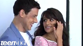 getlinkyoutube.com-Behind-the-Scenes of Lea Michele and Cory Monteith's Teen Vogue Cover Shoot