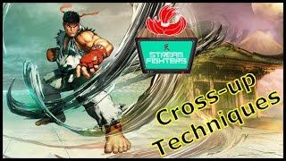 SFV Ryu corner set up and option / New Tech Tatsumaki EX