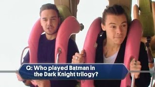 One Direction on Roller Coaster (Interview) NBC TV Special 2014