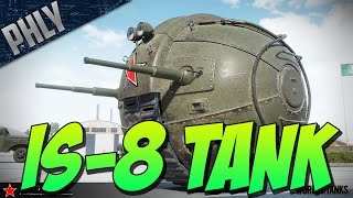 getlinkyoutube.com-IS-8 TANK - MOON BATTLE - (World Of Tanks April Fools Gameplay)