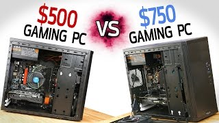getlinkyoutube.com-$500 Gaming PC vs $750 Gaming PC!