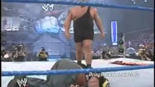 getlinkyoutube.com-Brock Lesnar Saves Rey Mysterio and attacks big show FPW