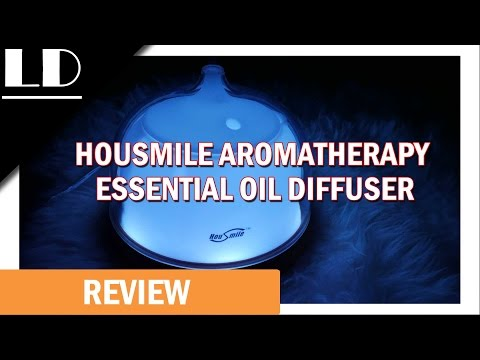 Housmile 200ml Aromatherapy Essential Oil Diffuser Review