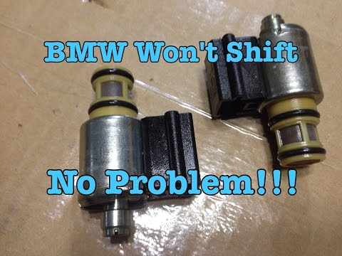 BMW E39 E36 GM 4L30E Transmission Not Shifting Nightmare Solved!!!