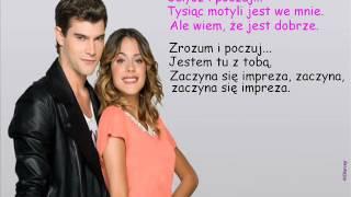 Violetta - Yo soy asi tłumaczenie pl
