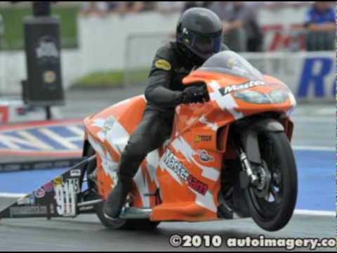 Tommy Miceli - Worldwide Bearings - 2010 NHRA Prostock Motorcycle Drag Racing