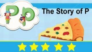 Alphabet Songs - Story Of Letter P for Nursery Kids