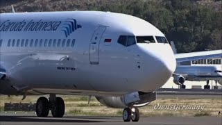 getlinkyoutube.com-New Garuda Indonesia 737-800 Delivery Flight From Boeing