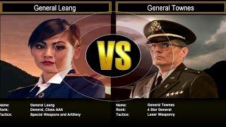 Shockwave Challenge Mode Hard: General Leang VS General Townes