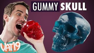 getlinkyoutube.com-World's Largest Gummy Skull