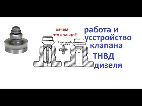 Нагнетательный клапан ТНВД