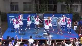 getlinkyoutube.com-【公式】 我孫子高校 坊's 夏色えがおで1,2,Jump!+自己紹介 【文化祭】 【ラブライブ!】