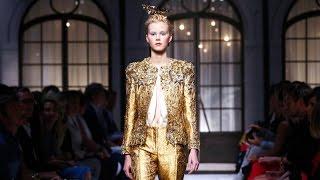 getlinkyoutube.com-Schiaparelli | Haute Couture Fall Winter 2015/2016 Full Show | Exclusive