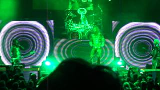 Rob Zombie lashes out at Marylin Manson on stage in Detroit 10/12/12 (DTE Theatre)