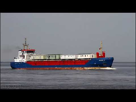 Click to view video HELENE G - IMO 9195406 - Germany - River Elbe - Otterndorf