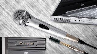 getlinkyoutube.com-Решение проблемы: динамический микрофон - запись и караоке на компьютере