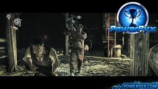 The Evil Within - Knife Beats Chainsaw Trophy / Achievement Guide (Chapter 3 Boss Fight)