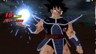 getlinkyoutube.com-Turles VS King Vegeta with black hairs (Dragon Ball Z Budokai Tenkaichi 3 MOD)