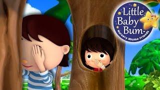 getlinkyoutube.com-Where Did You Go?! | Hide and Seek | Nursery Rhymes | Original Song By LittleBabyBum!