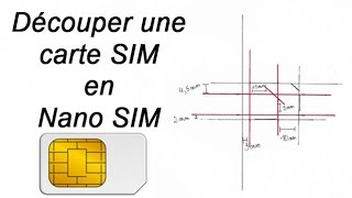 getlinkyoutube.com-✄ Découper carte SIM en NANO Sim - tutoriel - iPhone 5 - 5S - 5C - 6 - 6 Plus - 6S