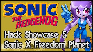 getlinkyoutube.com-Sonic Hack Showcase 5 - Sonic X Freedom Planet