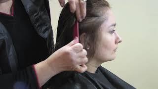 getlinkyoutube.com-Como cortar el pelo en capas - 1 de 2 - Cursos de Peluqueria