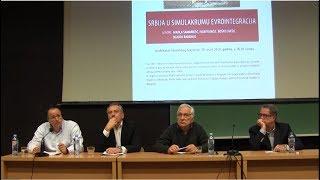 Srbija u simukularu evrointegracija - Nije filozofski ćutati