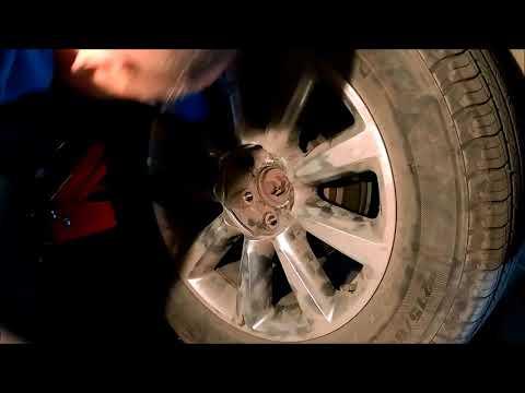 Инфинити QX56. Замена колес.