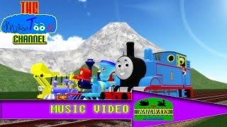 getlinkyoutube.com-We Make A Team Together! Music Video | The Railways of Crotoonia