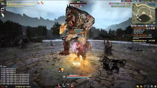 getlinkyoutube.com-Black Desert Online Advanced Summoned Field Boss Party Version