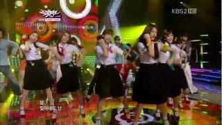 getlinkyoutube.com-[HD]110729 KBS音樂銀行LIVE T-ARA - Roly-Poly - 1080p