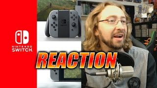 getlinkyoutube.com-MAX REACTS: Nintendo Switch Reveal Trailer