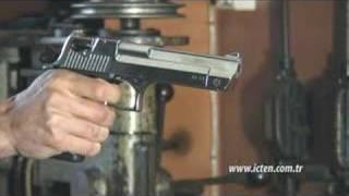 getlinkyoutube.com-Silah- Kurusıkı Desert Eagle Nikel ( Blank Firing Gun)