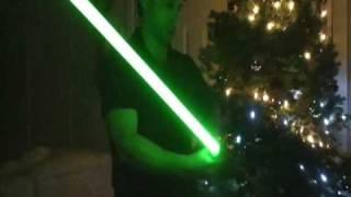 getlinkyoutube.com-How To Make a Lightsaber - LEDs & Crystal Focus