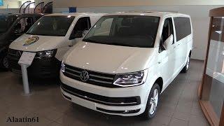 getlinkyoutube.com-Volkswagen Transporter T6 2017 In Depth Review Interior Exterior