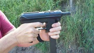 getlinkyoutube.com-Shooting the Tec 9 with a silencer