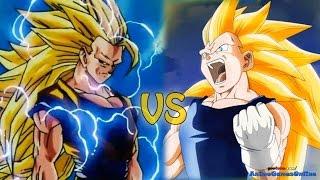 getlinkyoutube.com-Super Saiyan 3 Goku vs Super Saiyan 3 Vegeta - Road to Dragon Ball Xenoverse Episode 3